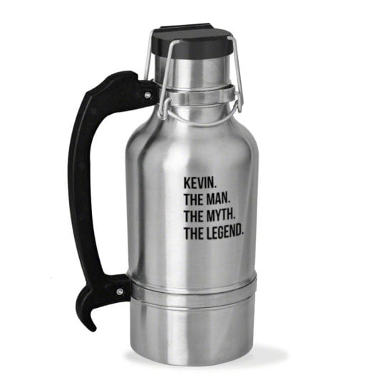 Stainless Steel Metal Growler Best Gifts for Dad