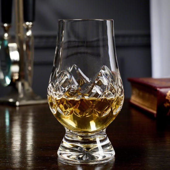 Cut Crystal Glencairn Whiskey Glass