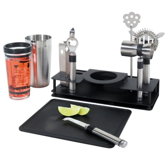 10-Piece Bar Set Father of the Groom Gift Ideas