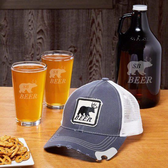 Bear Beer Deer Gift Set for Guys