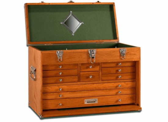 Wooden Tackle Box