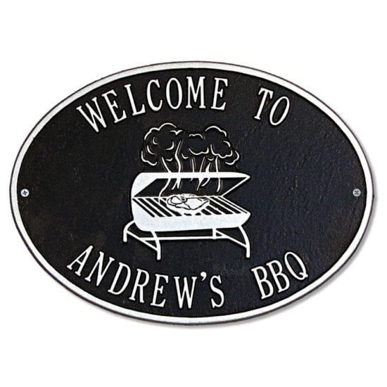 BBQ Grilling Outdoor Sign