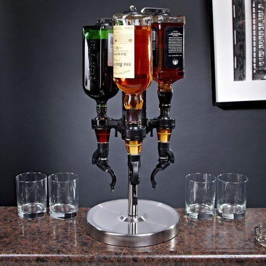 3 Bottle Liquor Dispenser