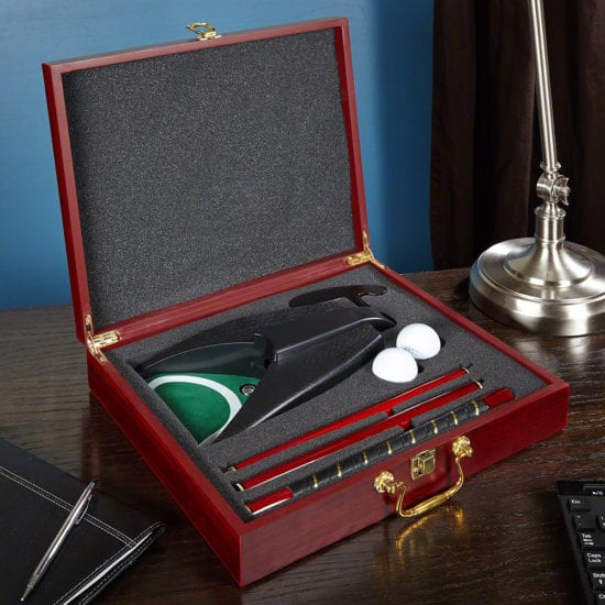 Executive Golf Putting Set – Dad Gift Ideas for those Stuck in the Office