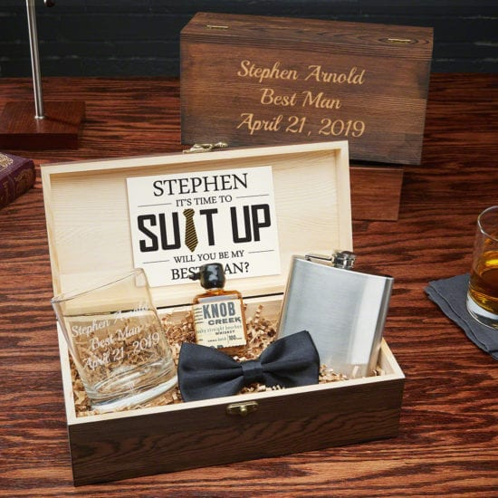Engraved Groomsmen Gift Set – A Wholly Unique Groomsmen Gift Idea