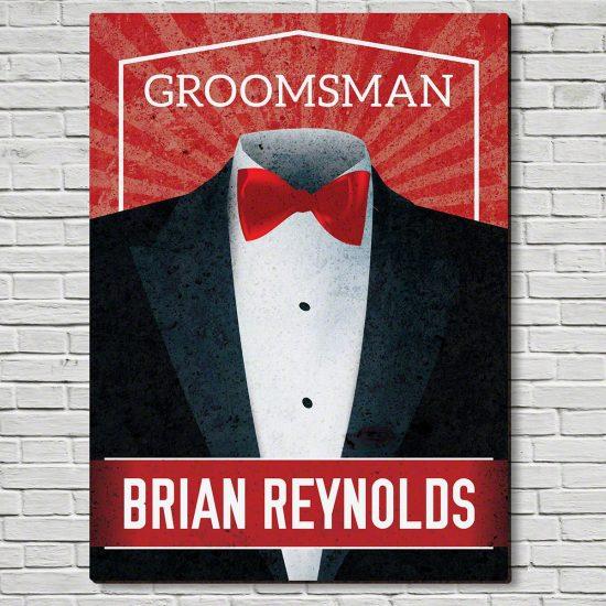 Custom Groomsmen Sign – Unique Groomsmen Gift Ideas