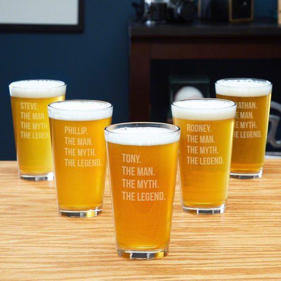 Raise a Glass for the Groom – 5 Legendary Groomsmen Pint Glasses