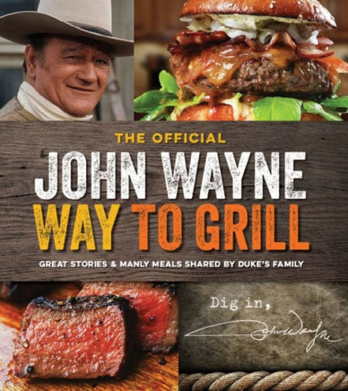 John Wayne Teaches the Groom how to Grill