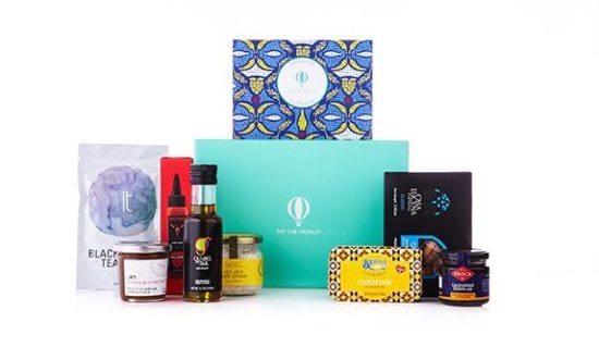 Unique Worldwide Food Subscription Box