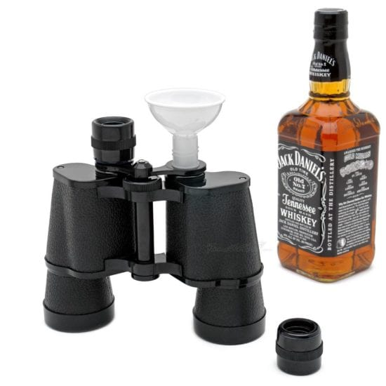 Binocular Flask – Unique Groomsmen Gift Ideas They'll Never Expect