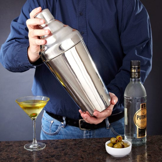 Giant Cocktail Shaker – Gift Ideas for a Dad That Loves to be the Life of the Party