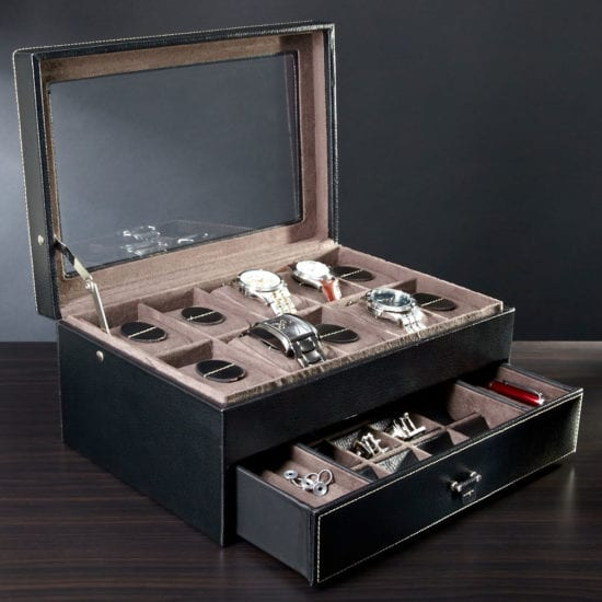 Timeless Watch Display Case – A Wedding Gift Idea for the Classic Groom