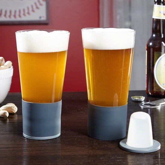 Cool Self-Chilling Beer Glasses