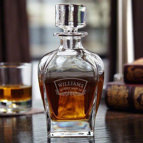 Custom Liquor Decanter