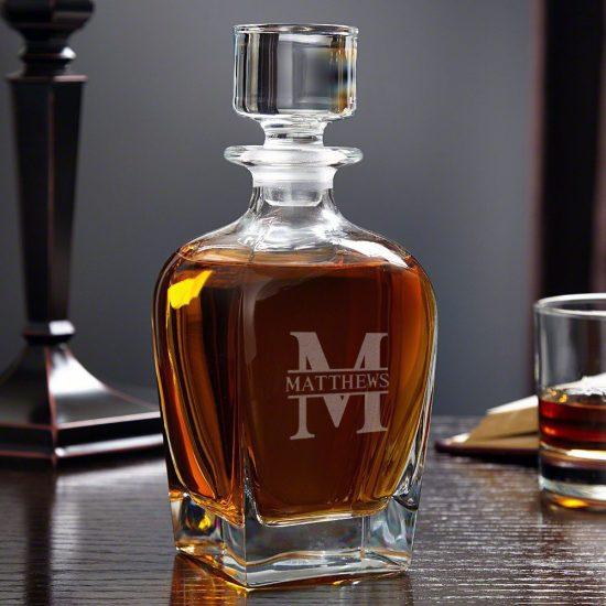 Personalized Liquor Decanter