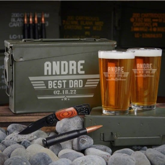 Ammo Can Set of Gifts for Dad Who Wants Nothing