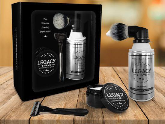 Shaving Cream Brush Kit