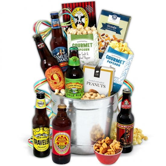 Creative Beer Gift Basket