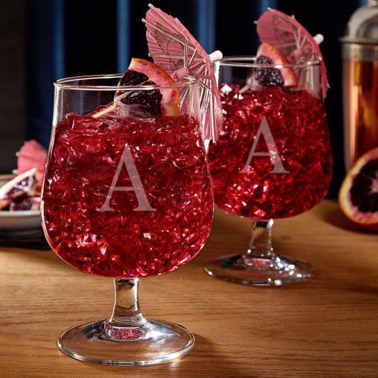 Custom Hurricane Cocktail Glasses