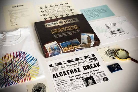 Finders Seekers Subscription Box – A Gift Idea for Amateur Sleuth Dads Who Want Nothing