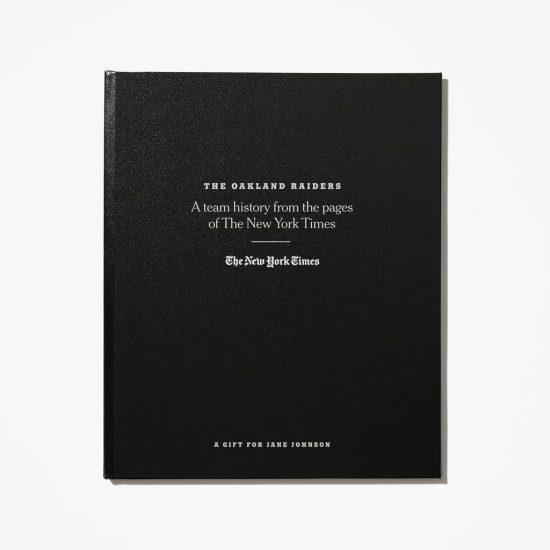 Custom NFL History Book