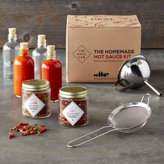 Homemade Hot Sauce Kit – A Gift for the Aspiring Chef Dad Who Wants Nothing