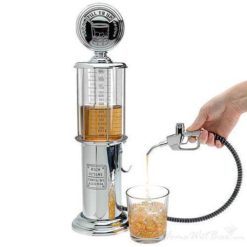 Retro Gas Pump Liquor Dispenser