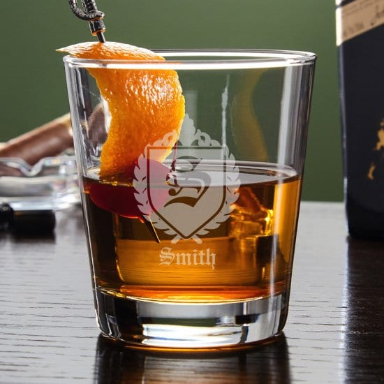 Oxford Personalized Lowball Cocktail Glass
