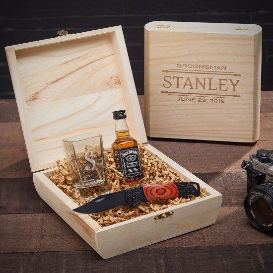Custom Shot Glass Gift Box – Cool Groomsmen Gifts That Standout