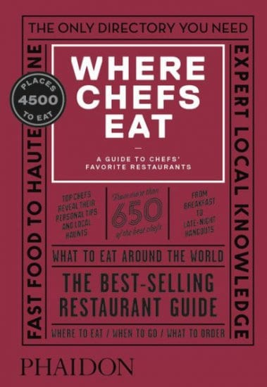 Where Chefs Eat – A 3 Year Anniversary Gift Idea for Food Lovers