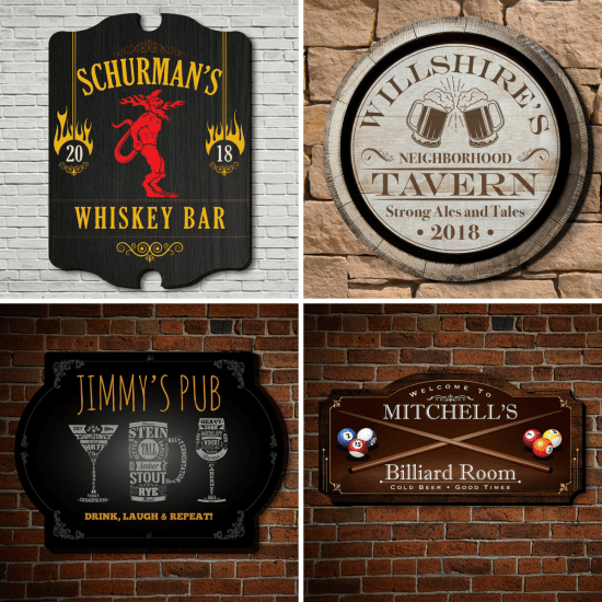 Personalized Signs for Any Occasion