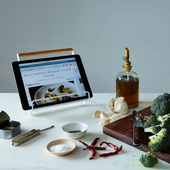 Cookbook & Tablet Stand To Share Family Recipes