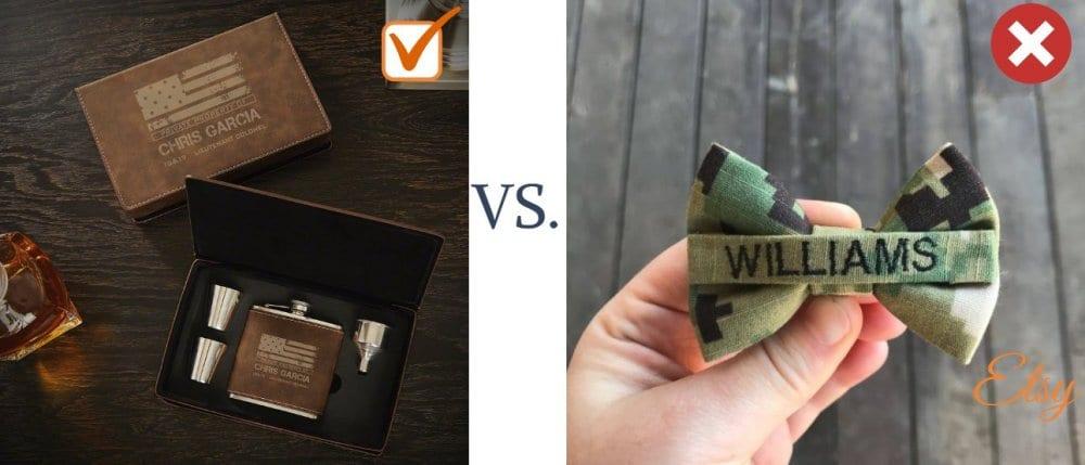 Military Gift Ideas for Groomsmen