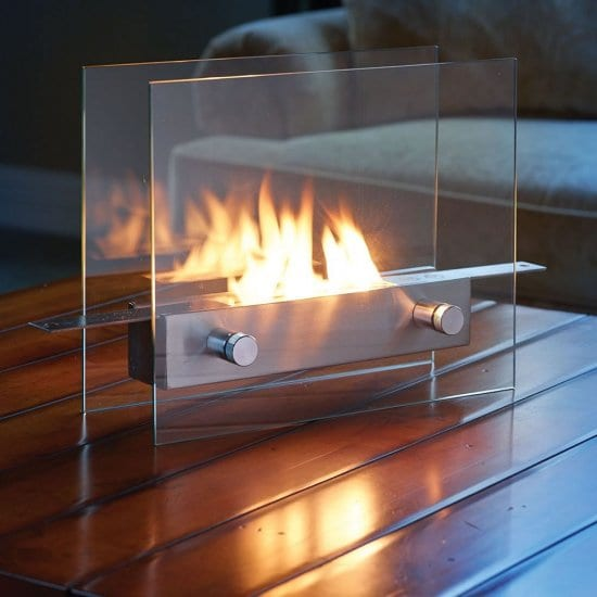 Portable Tabletop Fireplace Gift