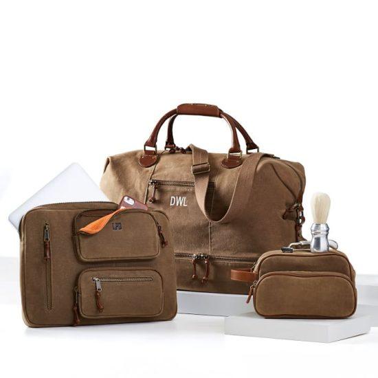 Monogrammed Travel Luggage