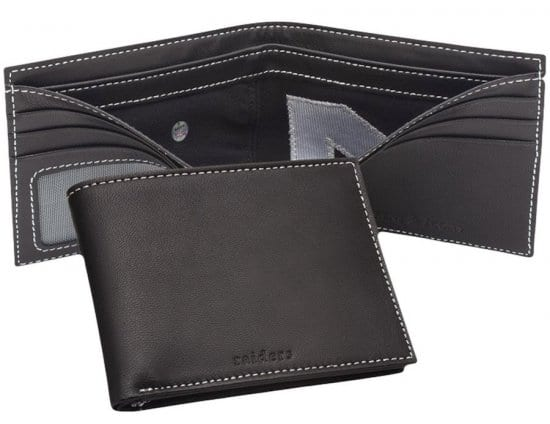 Game Used Leather Wallet – A 3rd Year Anniversary Gift for Football Fans