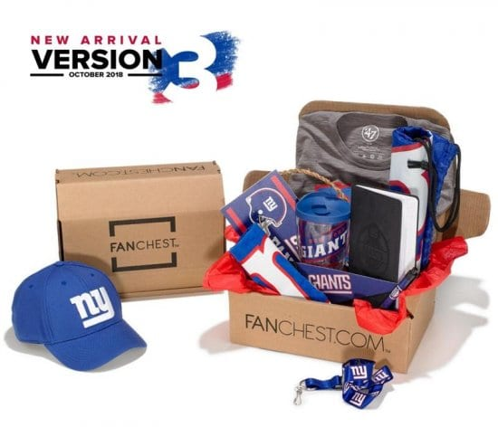 Gift Box of His Favorite NFL Team