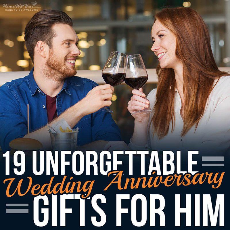 19 Unforgettable Wedding Anniversary Gifts for Him