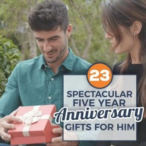 23 Spectacular 5 Year Anniversary Gifts for Him