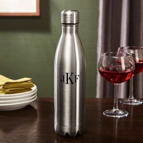 Monogrammed Growler - A Personalized Gift for Police Officers