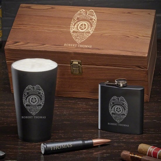Stainless Steel Police Gift Set