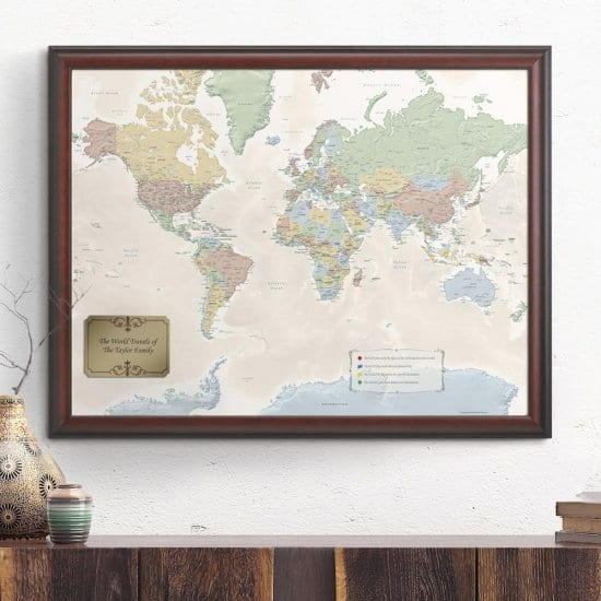 Map All Your Travels Together & Plans For the Future