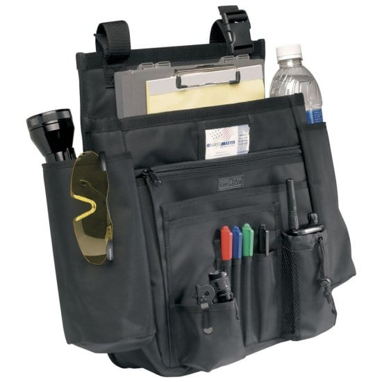 A Car Seat Organizer for the Tidy Police Officer