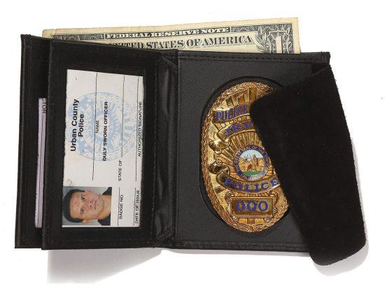 Hidden Badge Wallet