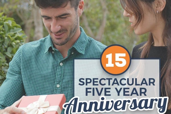 15 Spectacular Five Year Anniversary Gifts For Him