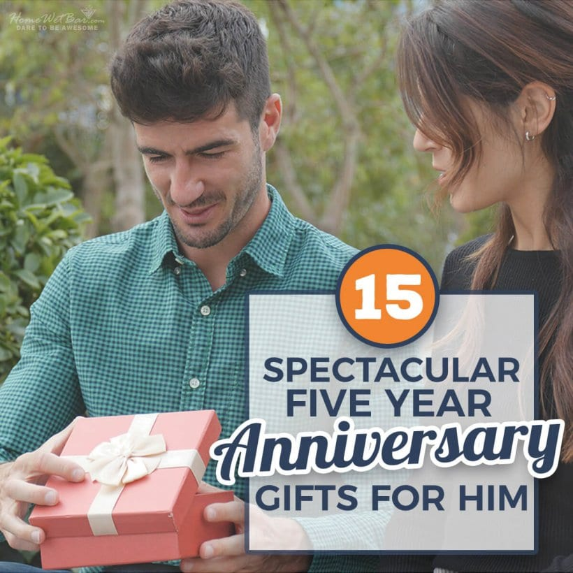 15 Spectacular 5 Year Anniversary Gifts For Him