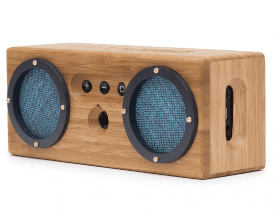 Unique Wooden Bluetooth Speaker