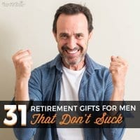 31 Retirement Gifts for Men – That Don't Suck