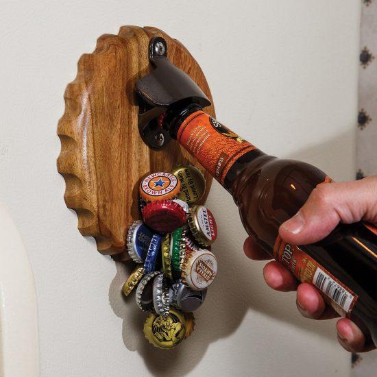 Magnetic Bottle Cap Catcher