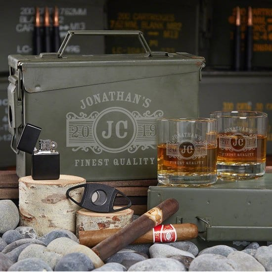 Ammo Can Celebrating Your Best Man's Vices
